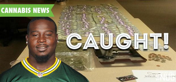 Nfl Player Caught With Almost 1 Pound Of Weed And 190000 The Nug