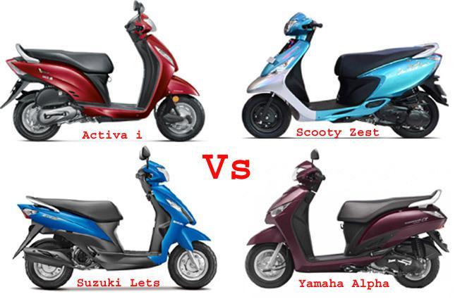 Yamaha Suzuki Scooty
