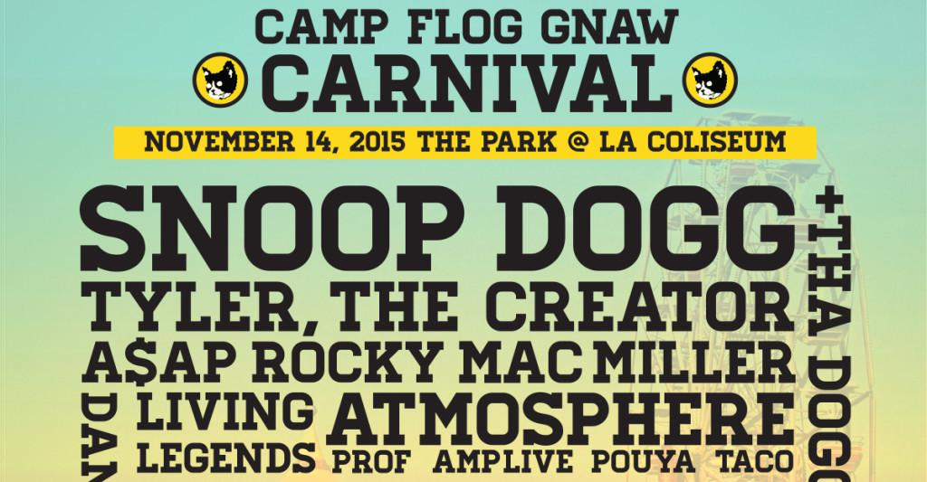 Flog Gnaw Camp Lineup 2015