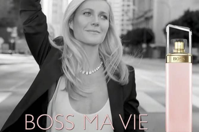 hugo boss taps gwyneth paltrow as the face of ma vie high fashion magazine. Black Bedroom Furniture Sets. Home Design Ideas