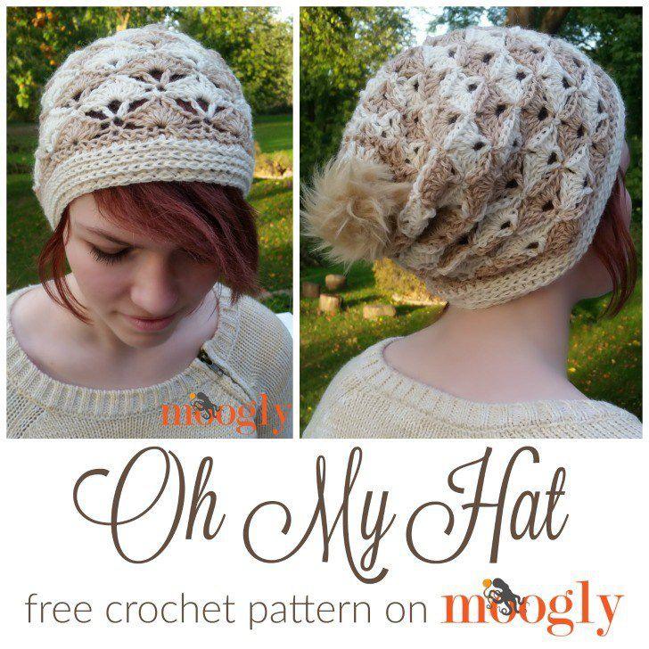 Free Crochet Pattern On Moogly : Free Crochet Pattern: Oh My Hat - Moogly