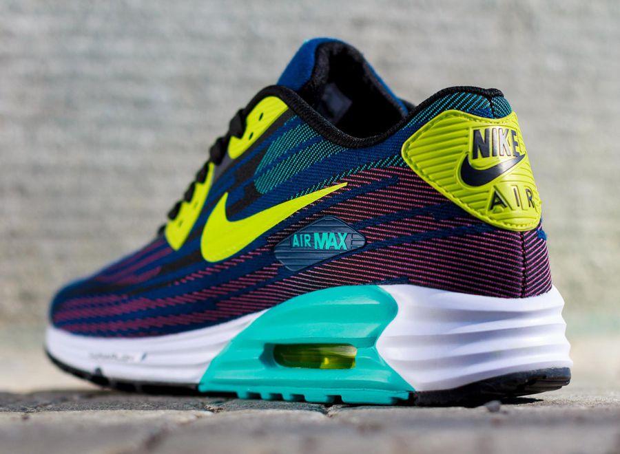 Nike Wmns Air Max Lunar90 White Turquoise Blue