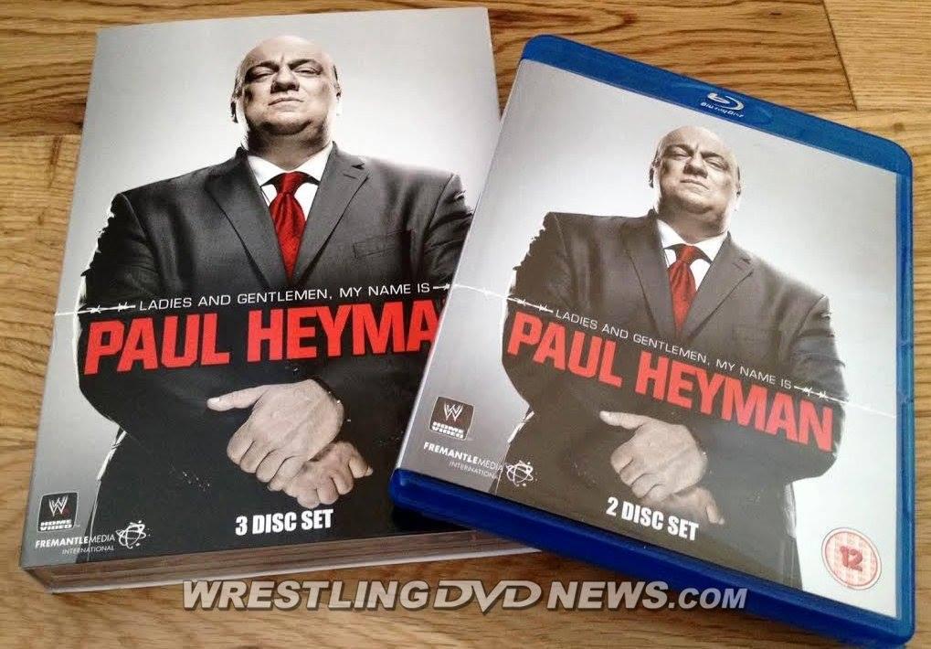 WWE Releasing Paul Heyman DVD Tomorrow: Complete Details, List of ...