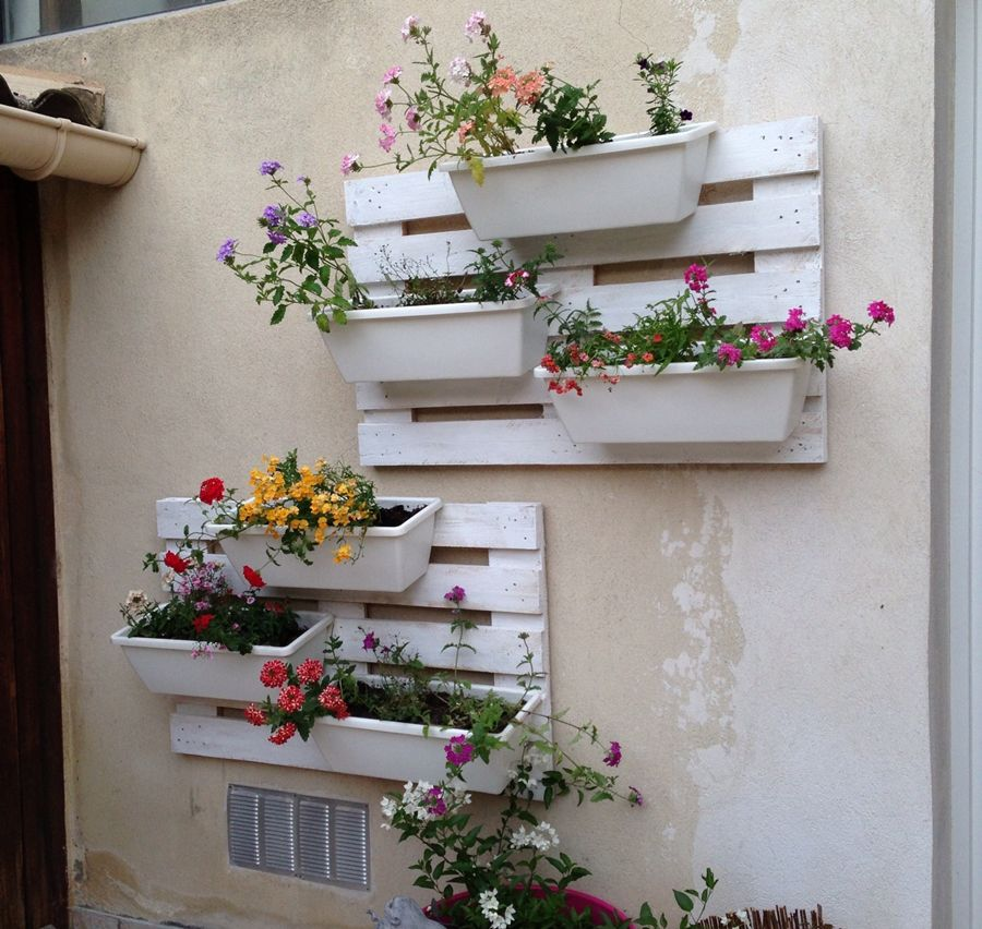 Recycled Wall Decor Ideas : Creative wall decor ideas with recycled pallets