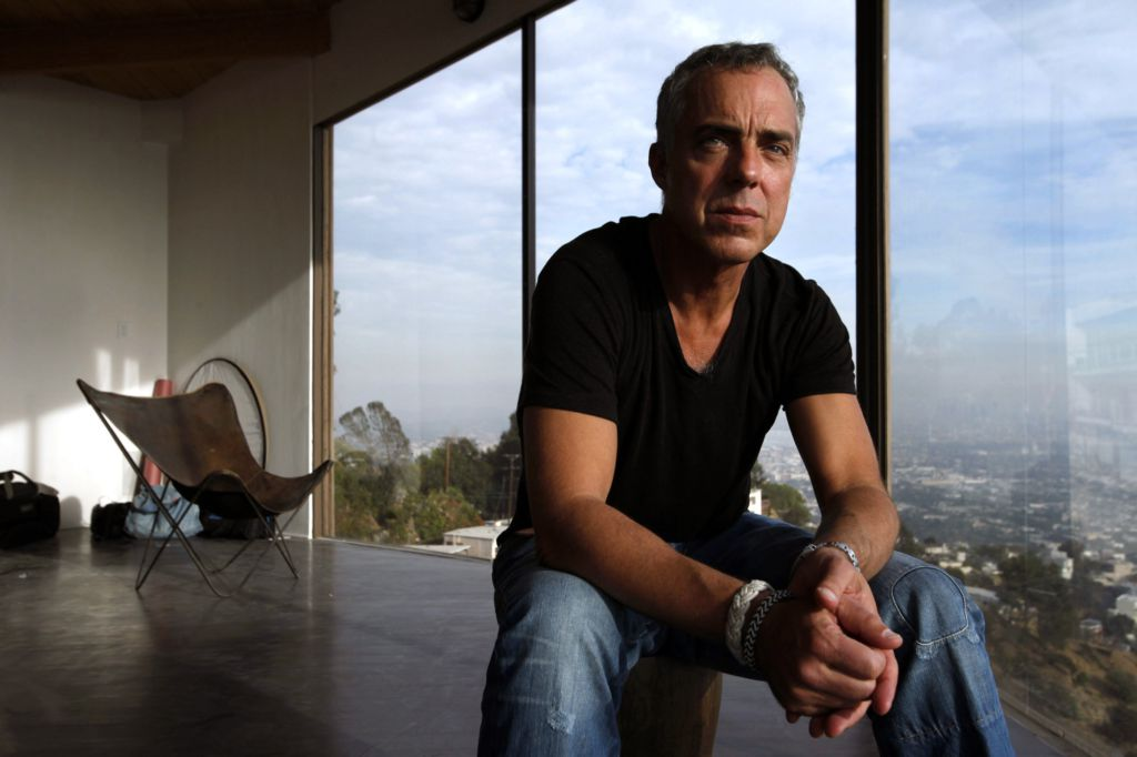 Emmy chat join titus welliver a k a 39 bosch 39 on thursday for Titus welliver tattoos