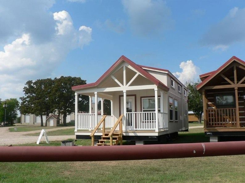 Sq Ft Sunnyside Park Model Tiny House on Wheels