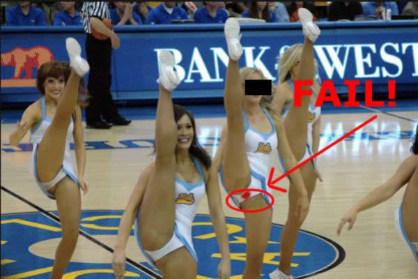 Accept. opinion, Nfl cheerleaders wardrobe fails