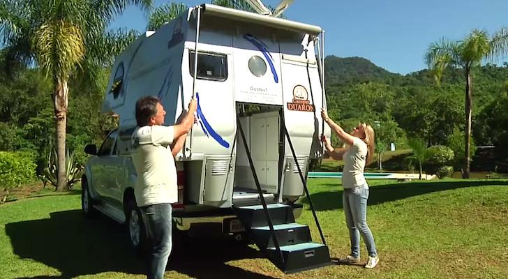 portuguese truck camper called the camper duaron