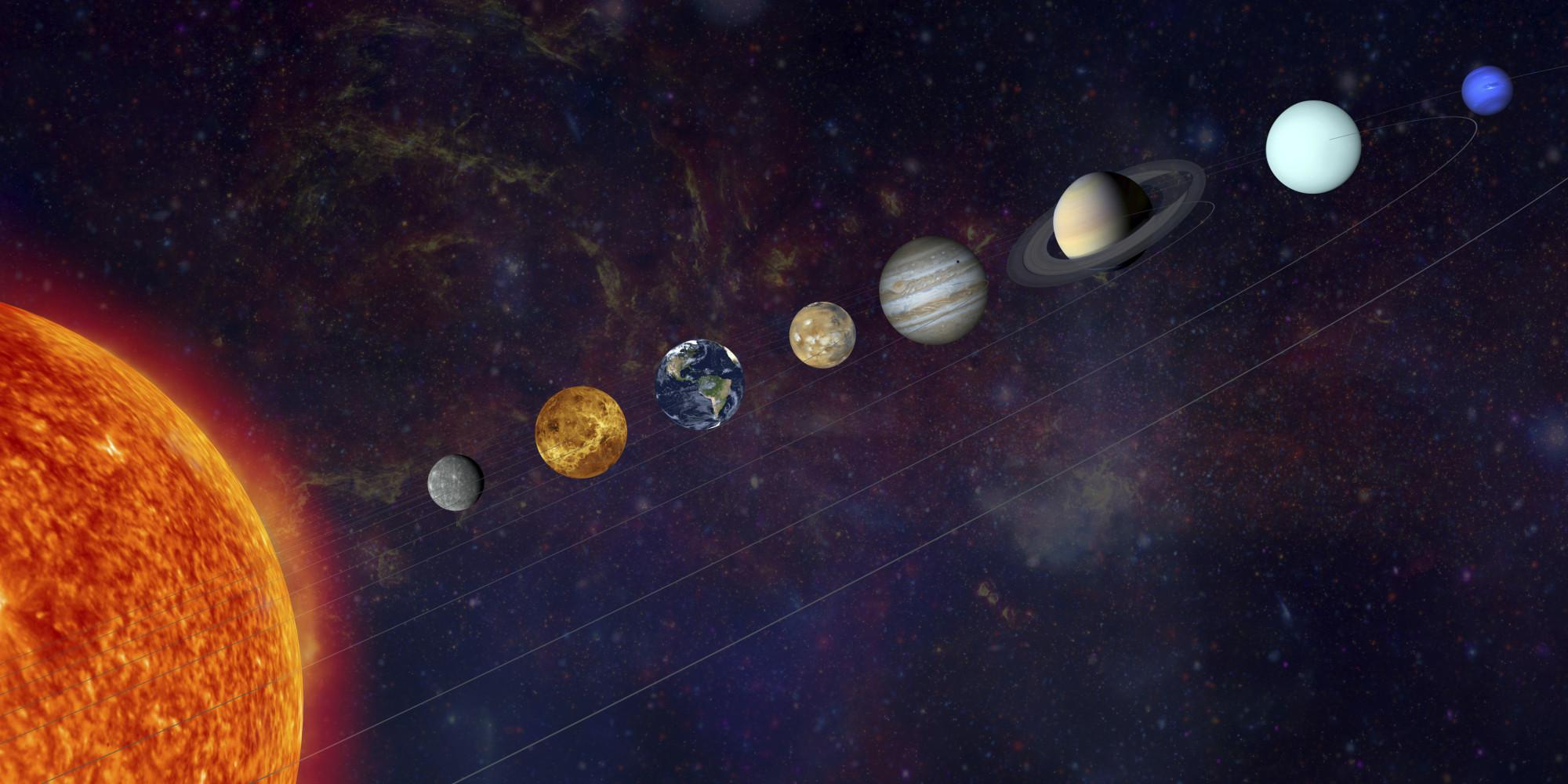 real pictures of the solar system - HD 1800×938